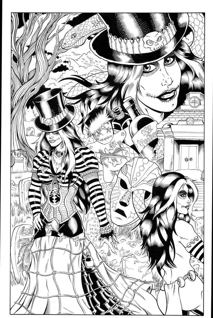 Voodoo inks by madman1