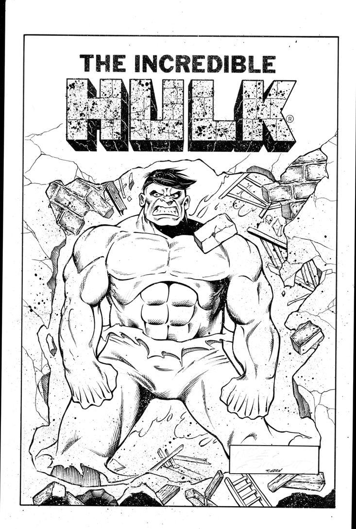 Sinnott Challenge \'14 Hulk inks by madman1