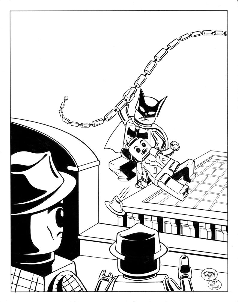 Detective #27 inks by madman1