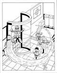 Amazing Spidey #1 Inks