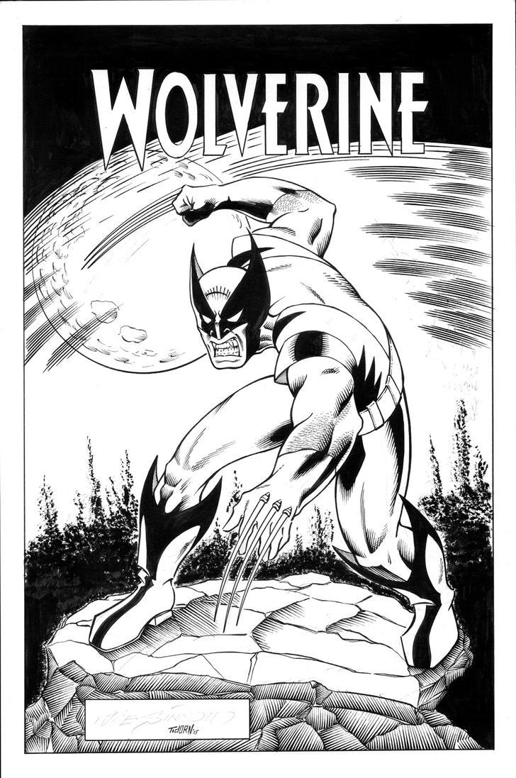 Sinnott Challenge '15 Wolverine inks by madman1