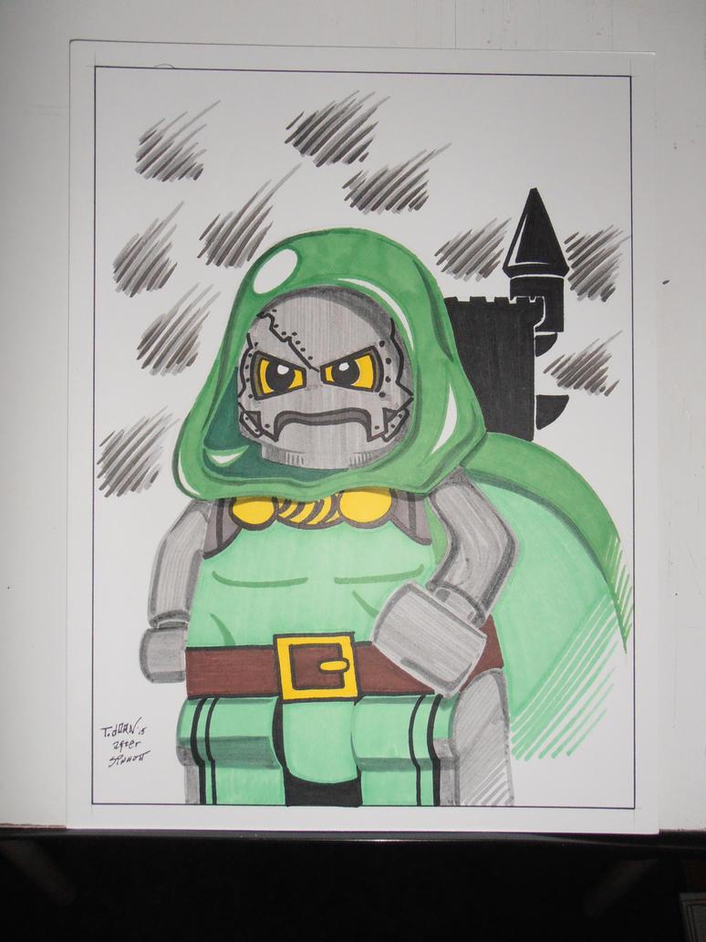 Sinnott Doom Project Brick by madman1