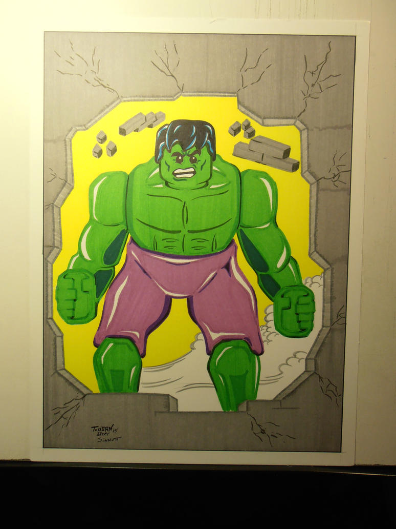 Sinnott Hulk Project Brick by madman1