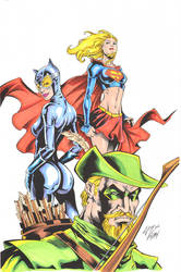 DC Teamup colors by madman1