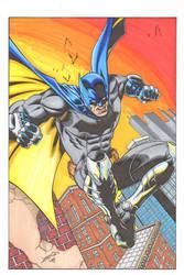 James Batman colors by madman1