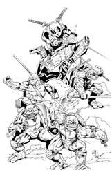 Dead Turtle inks by madman1