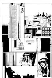 Spidey pg1 Sample inks by madman1