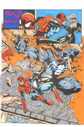 Spidey Cat 3 colors by madman1