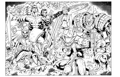 X-Force inks