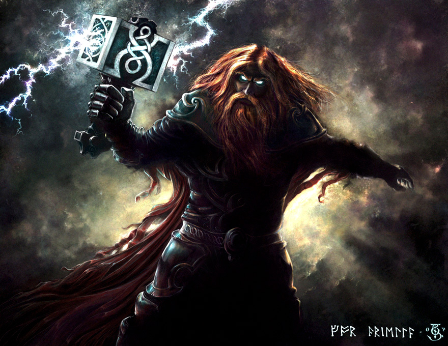 nordisk mytologi thor