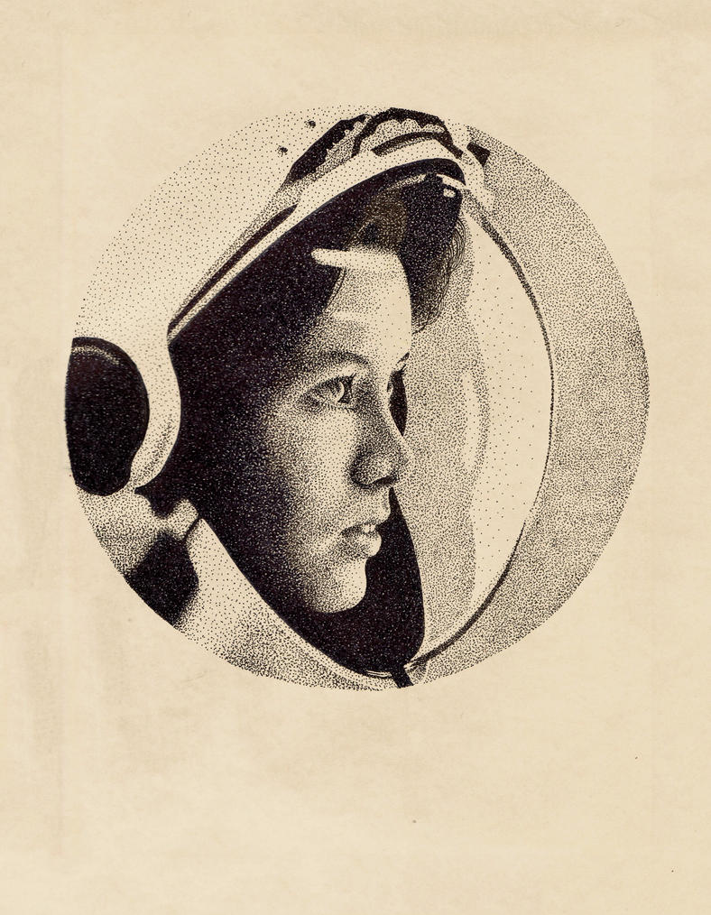 detailed drawings of astronauts - photo #32