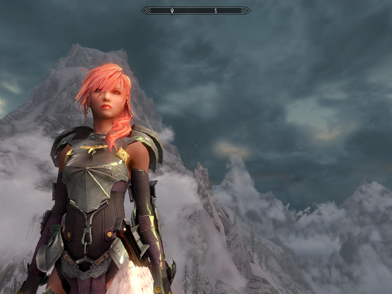 skyrim ffiix lightning by skylisha on deviantart