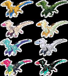 Chibi Raptor Batch 1 [Closed]