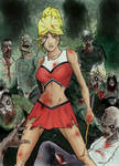 Zombies vs Cheerleaders Cover