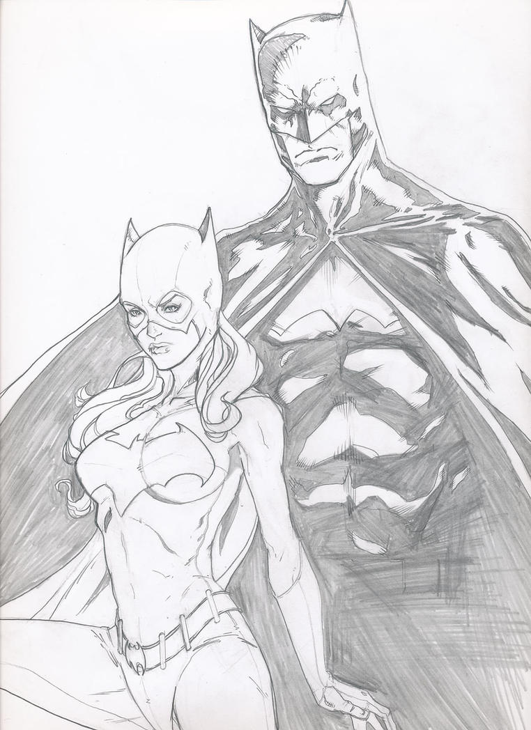 Batman And Batgirl By Grover80 On DeviantArt