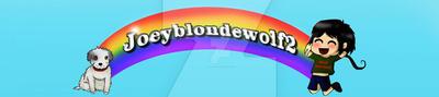 Contest winner of Joeyblondewolf2 youtube banner by Championx91