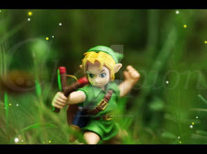 LoZ OOT Young Link - toy
