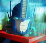 TF RID - Optimus Prime The Matrix is calling.