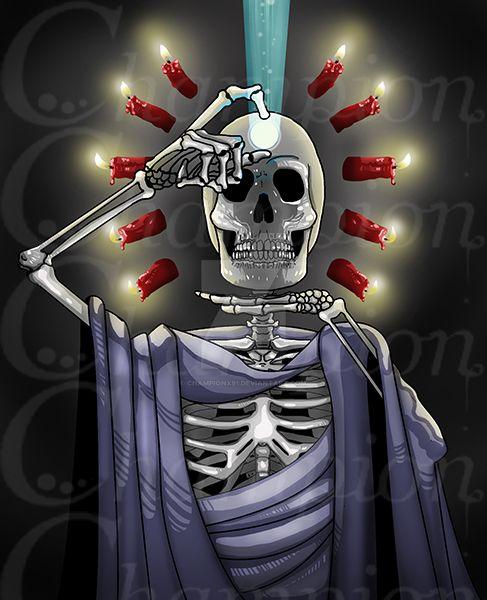 Skeleton - Moon Ritual by Championx91