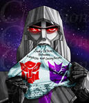 TF Megatron - This is what I think of your peace by Championx91
