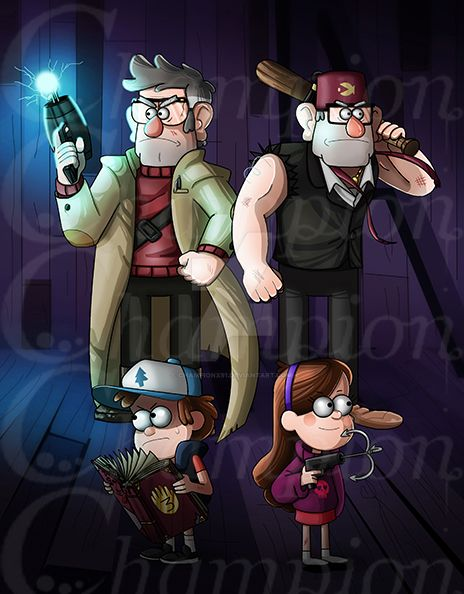 Gravity Falls - season 2 by Championx91