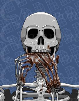 Skeleton - Melted Chocolate