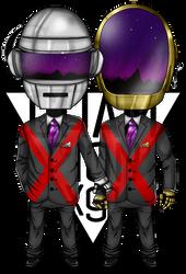Daft Punk - chibi