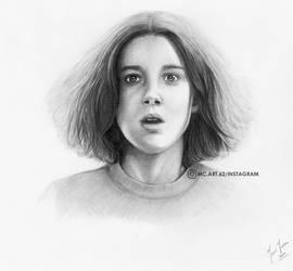 Millie Bobby Brown by MariceMedinaArt