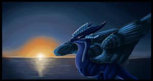 Night dragon by Chalybis