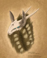 Kibar deer by Chalybis