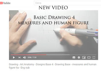 Basic drawing 4 - measures and human figure by StefanoLanza