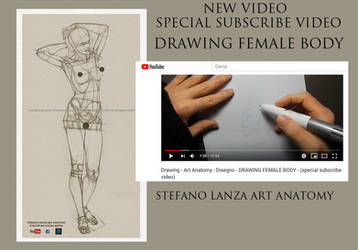 DRAWING FEMALE BODY by StefanoLanza