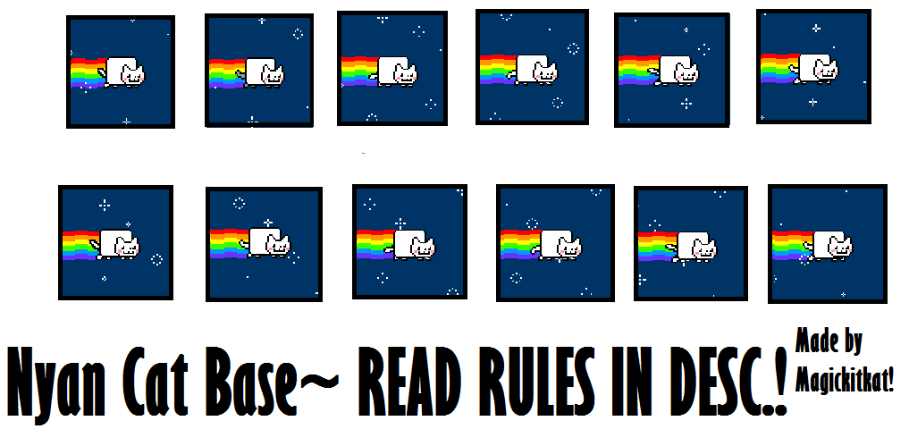 How To Make Nyan Cat In Chat