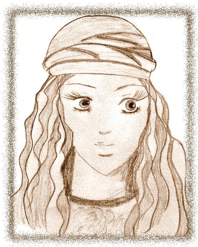 Arabian girl by LB99