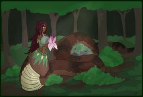 Ormanda, Tender of Forests. by TenaciousTinkerer