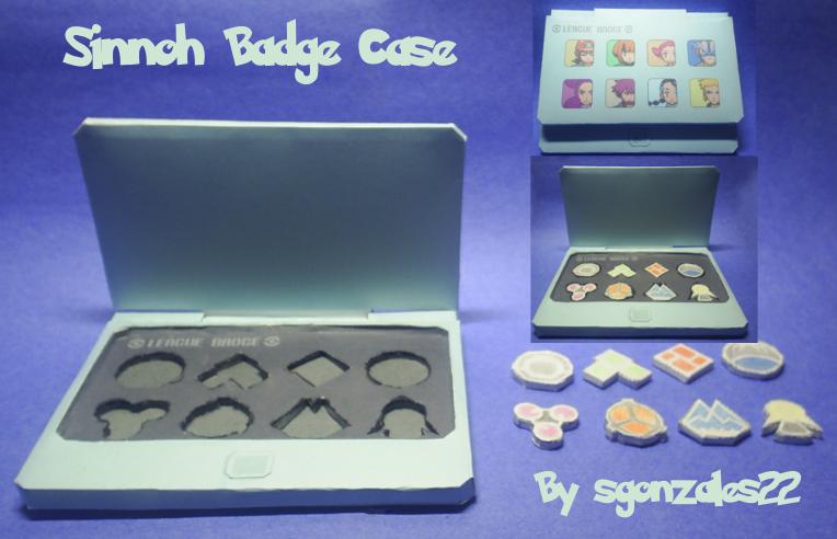 Sinnoh Badge Case by sgonzales22