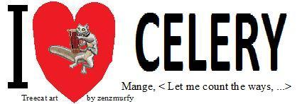 I Love Celery