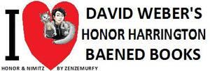 I LOVE  David Weber's Honor Harrington Baened Book