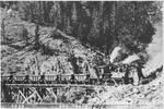 Ore train Mackay, Idaho 1912