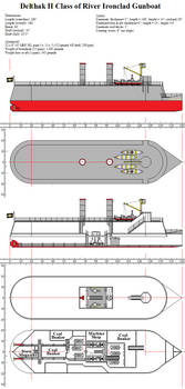 Delthak II Class of River Ironclad Gunboat