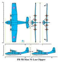 PB-5B Maa-Ni-Laa Clipper by Pokermind