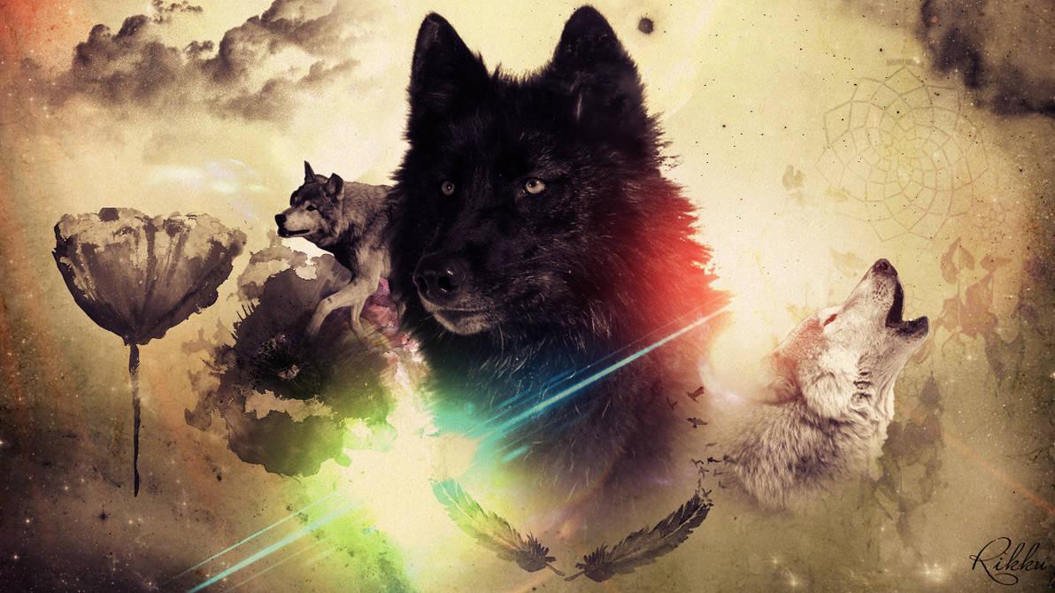 Wolves Wallpaper ~ By Rikku by RikkutheThief ...