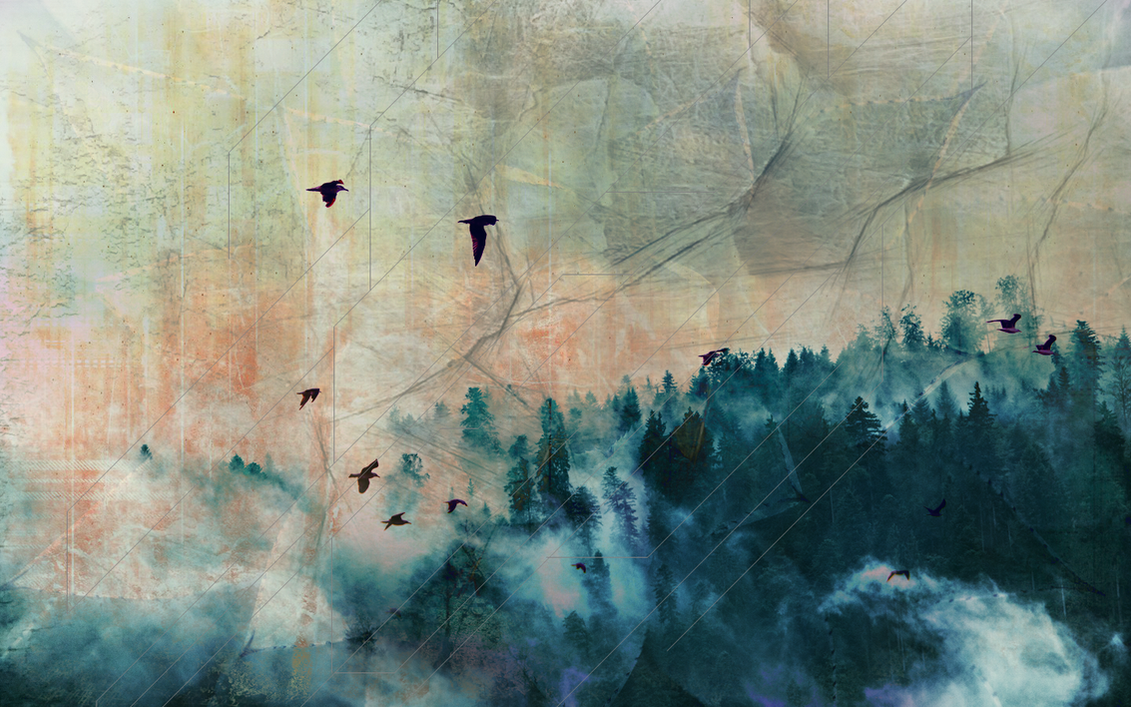 Abstract Nature Wallpaper for Raphita - Art-Design by RikkutheThief