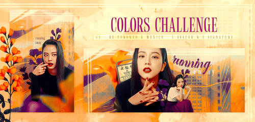 Set 'Running Away' - Colors Challenge
