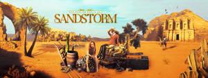 Realistic header - Sandstorm