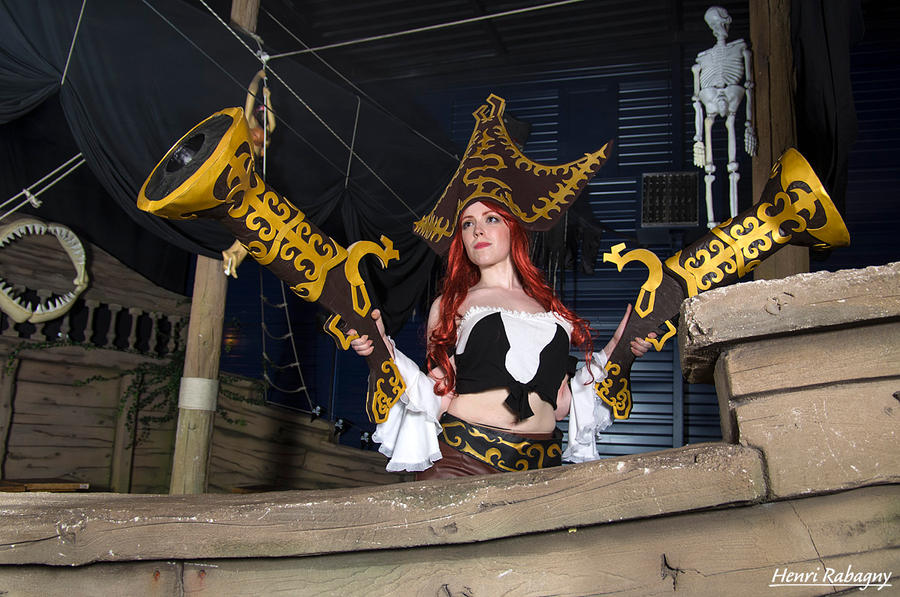 Miss Fortune Cosplay - On Board !