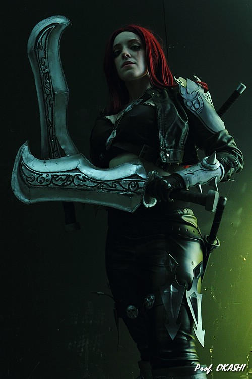 Katarina cosplay from League of Legends