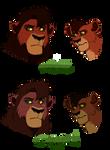 Kovu's Colours (Comparison)