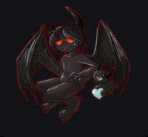 Azazel and bum by FUNKENGlNE