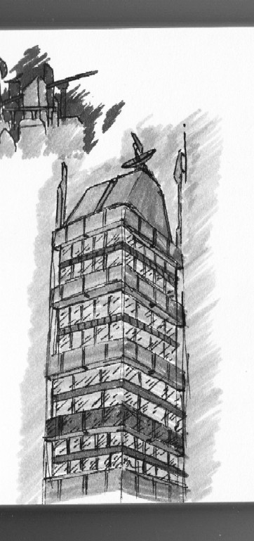 'Building Sketch' by FeralLion